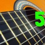 Curso de Guitarra desde cero a profesional (Nivel 5)