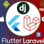 Crea Widgets en Flutter con una RestApi en Laravel y Django